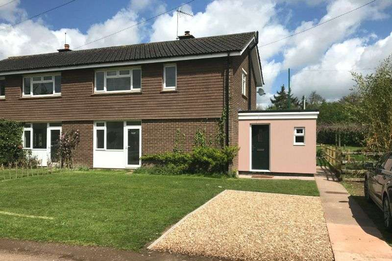 3 Bedrooms Semi Detached House for sale in THE DRIVE, BICTON, EAST BUDLEIGH, DEVON