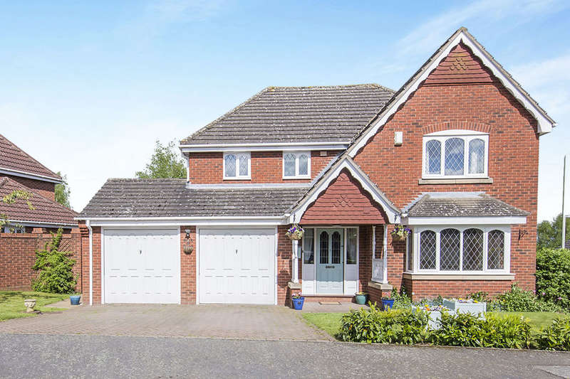 4 Bedrooms Detached House for sale in Summers Close, Kirkby Mallory, Leicester, LE9