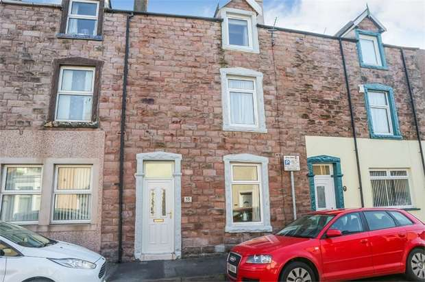 3 Bedrooms Terraced Bungalow for sale in Gladstone Street, Workington, Cumbria