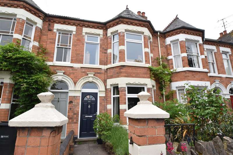 4 Bedrooms Terraced House for sale in Shrubbery Road, Worcester