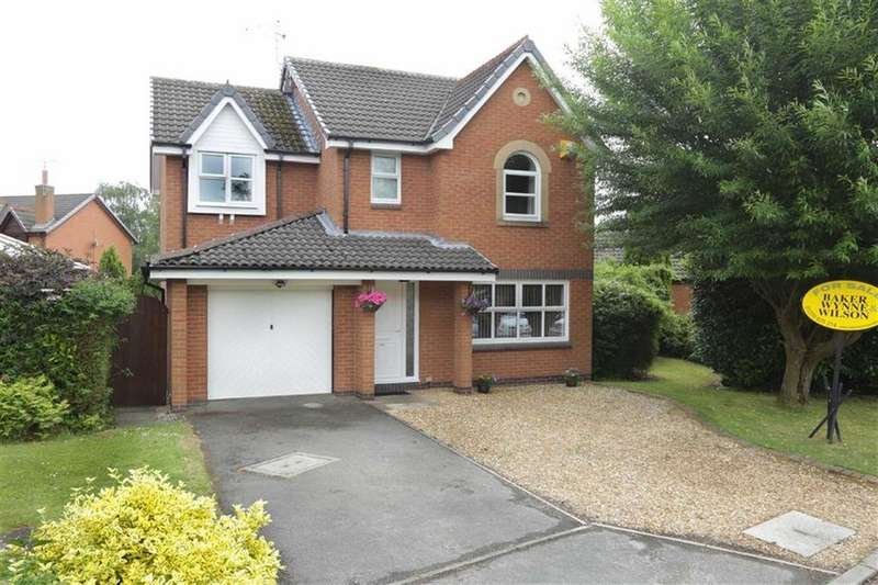 4 Bedrooms Detached House for sale in Gingerbread Lane, Nantwich, Cheshire