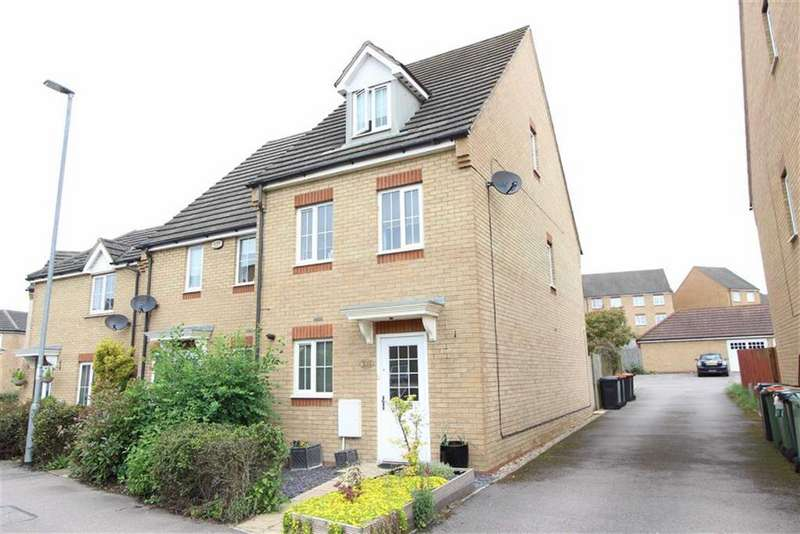 3 Bedrooms Semi Detached House for sale in Johnson Drive, Leighton Buzzard