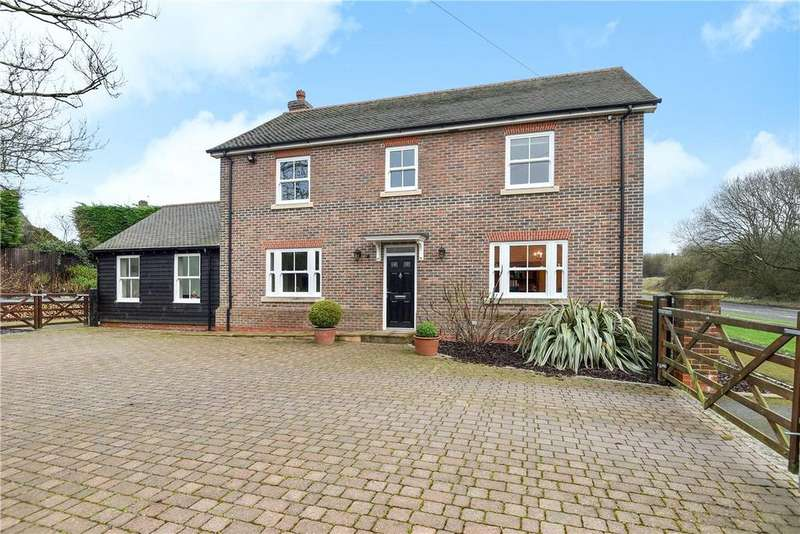 4 Bedrooms Detached House for sale in Winchester Road, Whitway, Newbury, Hampshire, RG20