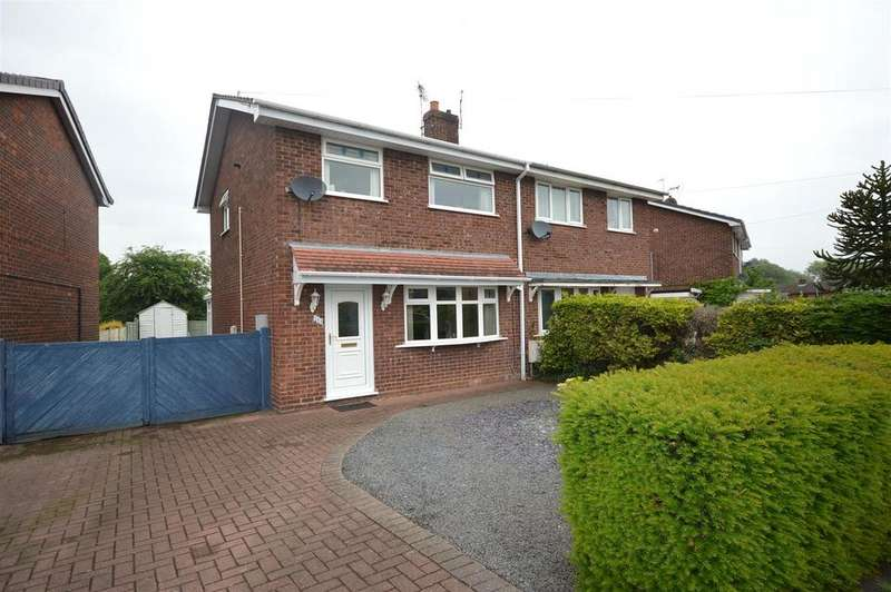 3 Bedrooms Semi Detached House for sale in Primrose Avenue, Haslington, Crewe