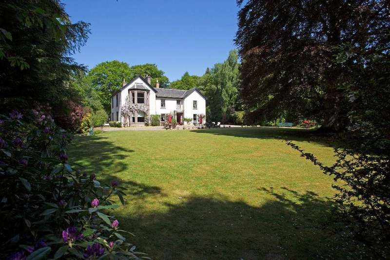 6 Bedrooms Country House Character Property for sale in Heathpark House, Coupar Angus Road, Rosemount, Blairgowrie, PH10 6JT