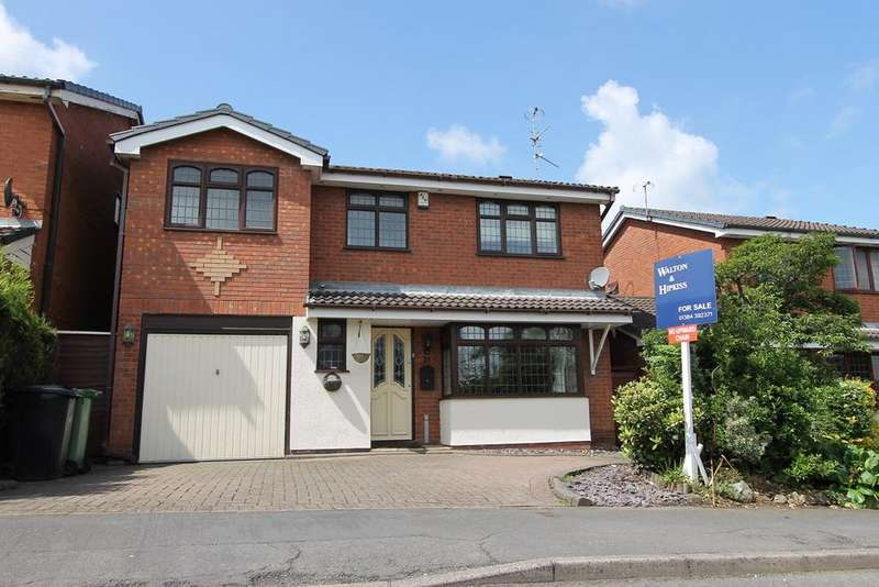 4 Bedrooms Detached House for sale in Lythwood Drive, Amblecote, Brierley Hill, DY5