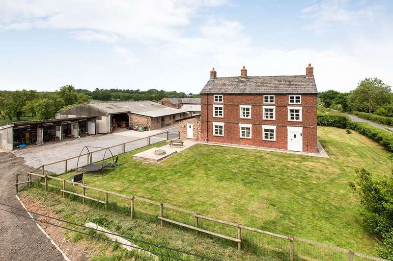 5 Bedrooms Detached House for sale in Gorstage Lane, Gorstage, Northwich, CW8