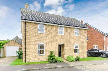 4 Bedrooms Detached House for sale in Ridge View, Houghton Conquest, Bedford, Bedfordshire