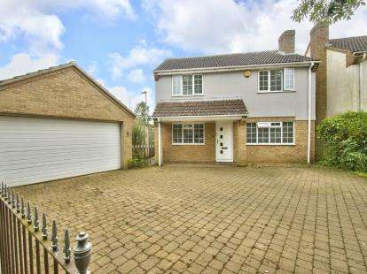 4 Bedrooms Detached House for sale in Cedar Close, Grafham, Huntingdon, Cambridgeshire