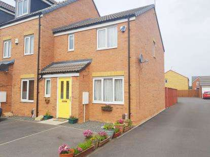 3 Bedrooms End Of Terrace House for sale in Hoskins Lane, Middlesbrough, .