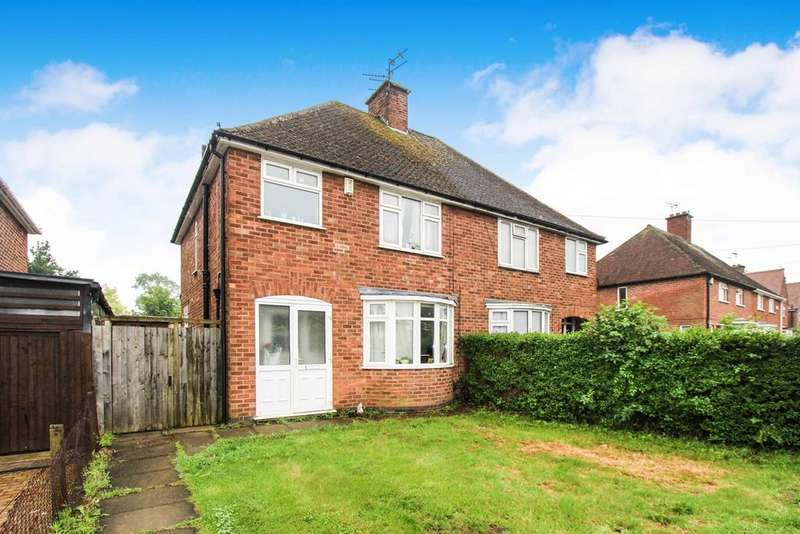 3 Bedrooms Semi Detached House for sale in Holmden Avenue, Wigston, Leicester, LE18
