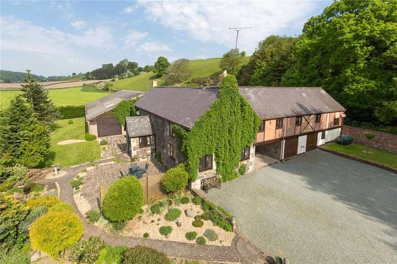 4 Bedrooms Detached House for sale in Llanyblodwel, Oswestry, Shropshire