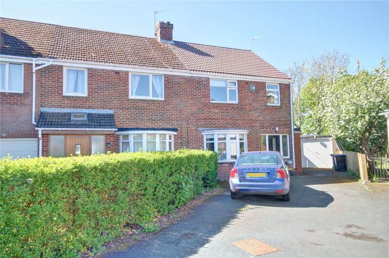 4 Bedrooms Semi Detached House for sale in Deyncourt, Durham, DH1