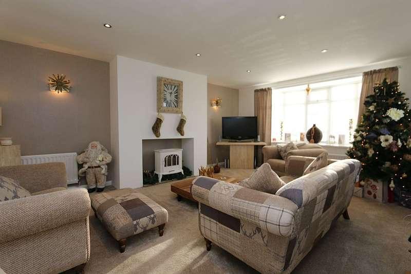 3 Bedrooms Detached Bungalow for sale in Alltami Road, Buckley Mountain, Flintshire, CH7 3PF