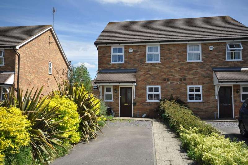 3 Bedrooms Semi Detached House for sale in Ladbroke Close, Woodley, Reading, RG5 4DX