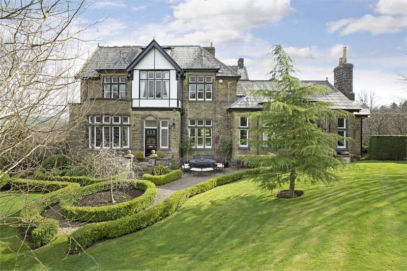 7 Bedrooms Detached House for sale in Iddesleigh, Queens Road, ILKLEY, West Yorkshire