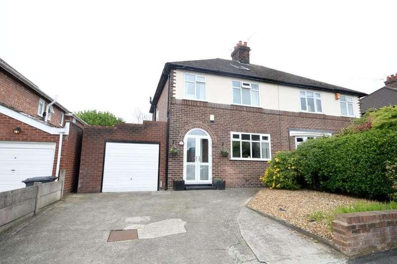 4 Bedrooms Semi Detached House for sale in Kildonan Road, Grappenhall, Warrington