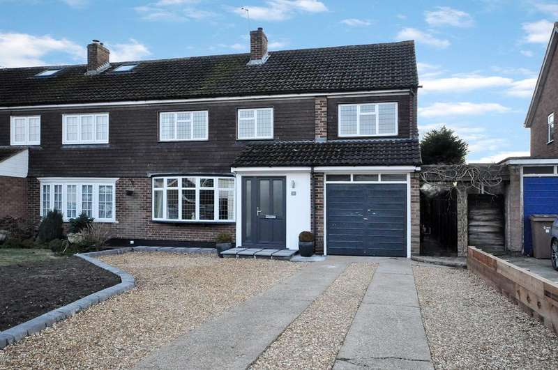 4 Bedrooms Semi Detached House for sale in Cornfield Road, Woodley, Reading, RG5 4QA