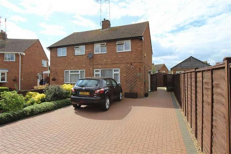 2 Bedrooms Semi Detached House for sale in Brownslea, Leighton Buzzard