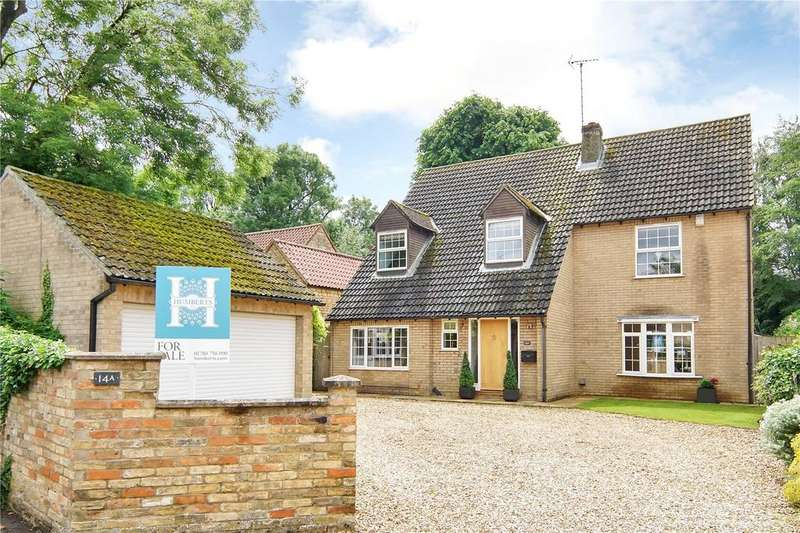 4 Bedrooms Detached House for sale in Rectory Lane, Glinton, Peterborough