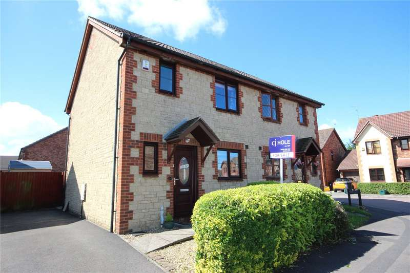 3 Bedrooms Semi Detached House for sale in Fennel Drive Bradley Stoke Bristol BS32