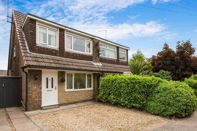 3 Bedrooms Semi Detached House for sale in Moss Lane, Macclesfield, SK11