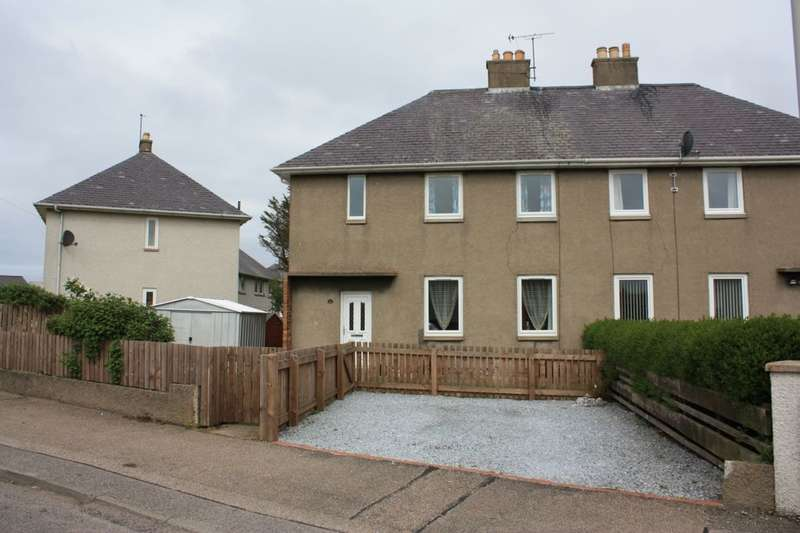 3 Bedrooms Semi Detached House for sale in Coulardhill, Lossiemouth, IV31