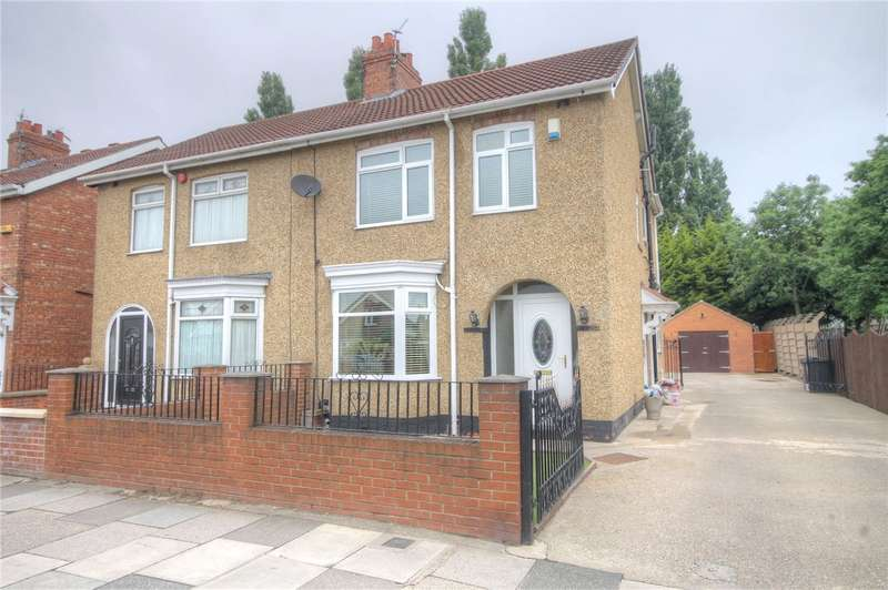 3 Bedrooms Semi Detached House for sale in Yarm Road, Darlington, DL1