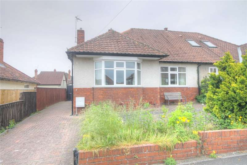 2 Bedrooms Semi Detached Bungalow for sale in The Rise, Darlington, DL3