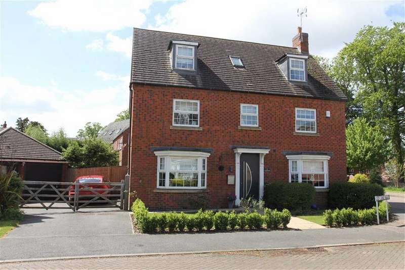 5 Bedrooms Detached House for sale in Lady Jane Walk, Scraptoft, Leicester
