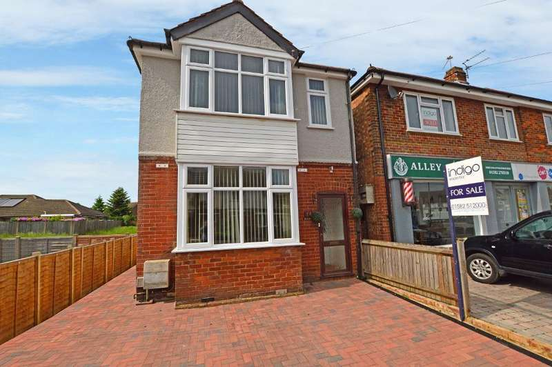 3 Bedrooms Detached House for sale in St Thomas Road, Stopsley, Luton, LU2 7UY