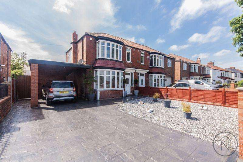 3 Bedrooms Semi Detached House for sale in Wolviston Road, Wolviston Court