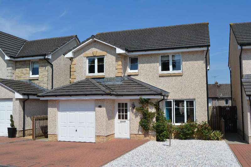 4 Bedrooms Detached House for sale in McKenna Avenue, Stoneywood, Denny, Falkirk, FK6 5GX