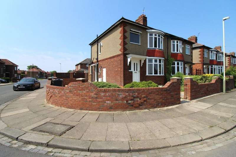 3 Bedrooms Semi Detached House for sale in Estoril Road, Darlington