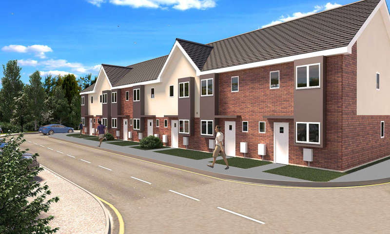 3 Bedrooms Terraced House for sale in Plot 193 Britannia Gate (A Type), Palgrave Road, Bedford, MK42