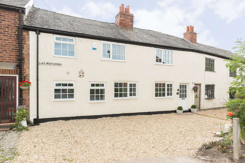 3 Bedrooms Cottage House for sale in Little Moor Cottages, Offerton