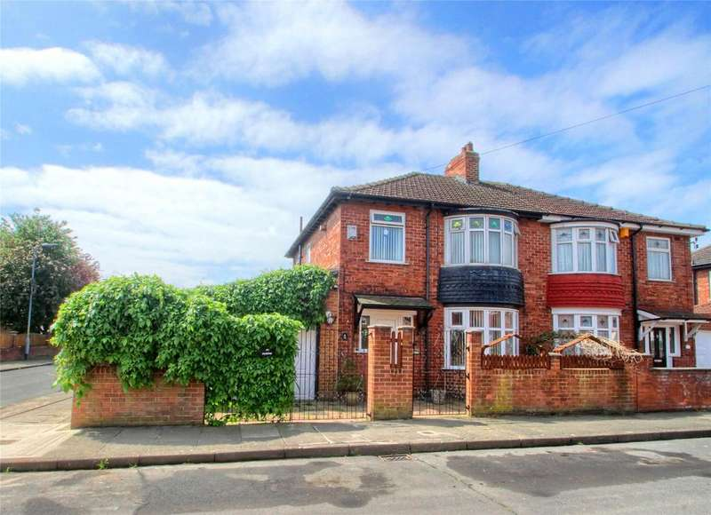3 Bedrooms Semi Detached House for sale in Arncliffe Avenue, Stockton-on-Tees