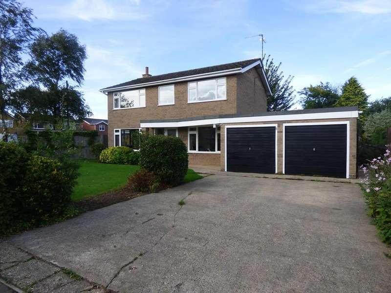 4 Bedrooms Detached House for sale in Hatt Close, Moulton