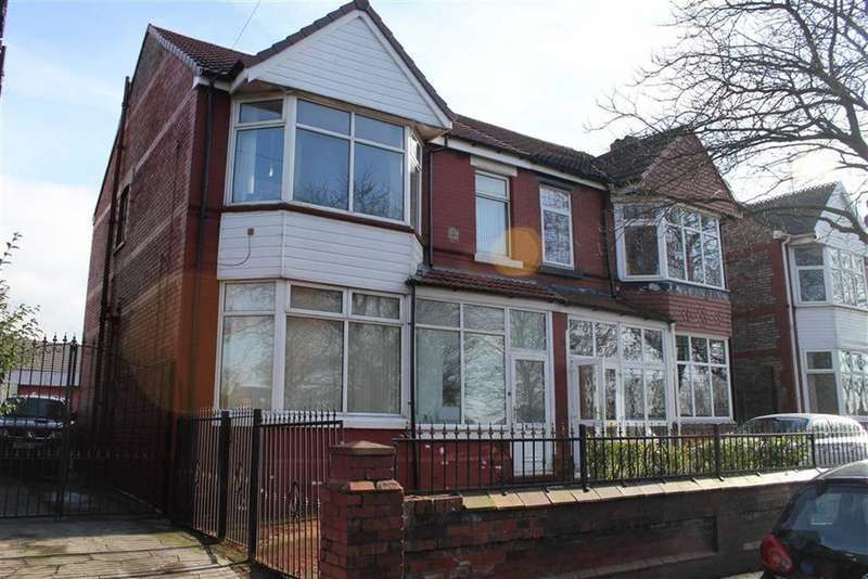4 Bedrooms Semi Detached House for sale in Northmoor Road, Longsight, Greater Manchester