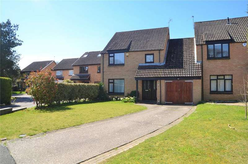 4 Bedrooms Link Detached House for sale in Carston Grove, Calcot, Reading, Berkshire, RG31