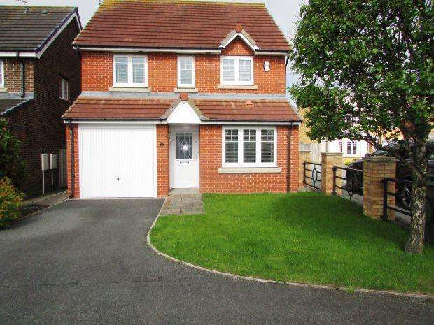 3 Bedrooms Detached House for sale in BEADNELL DRIVE, EAST SHORE VILLAGE, SEAHAM DISTRICT
