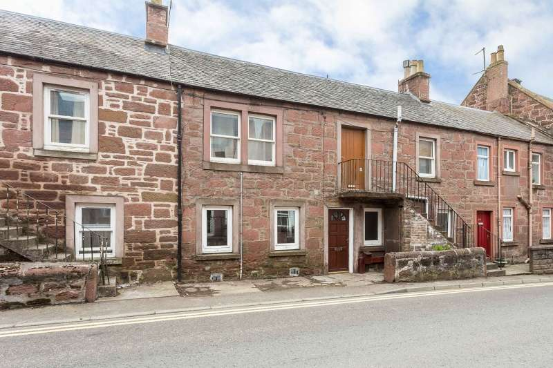1 Bedroom Ground Flat for sale in St Malcolm's Wynd, Kirriemuir, Angus, DD8 4HB