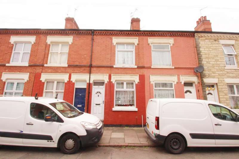 3 Bedrooms Terraced House for sale in Percival Street, Leicester, LE5