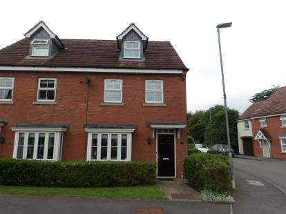 3 Bedrooms Semi Detached House for sale in Astley Way, Ashby-De-La-Zouch