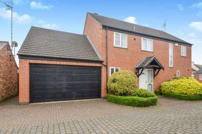 4 Bedrooms Detached House for sale in Harveys Court, Stanton Road, Sapcote, Leicestershire