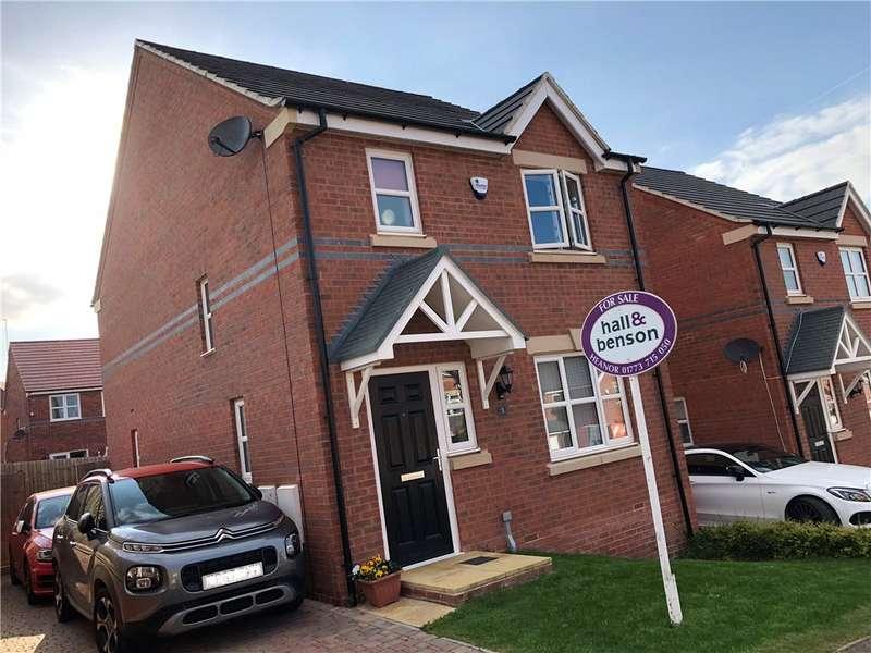 3 Bedrooms Detached House for sale in Stone Avenue, Heanor, Derbyshire, DE75
