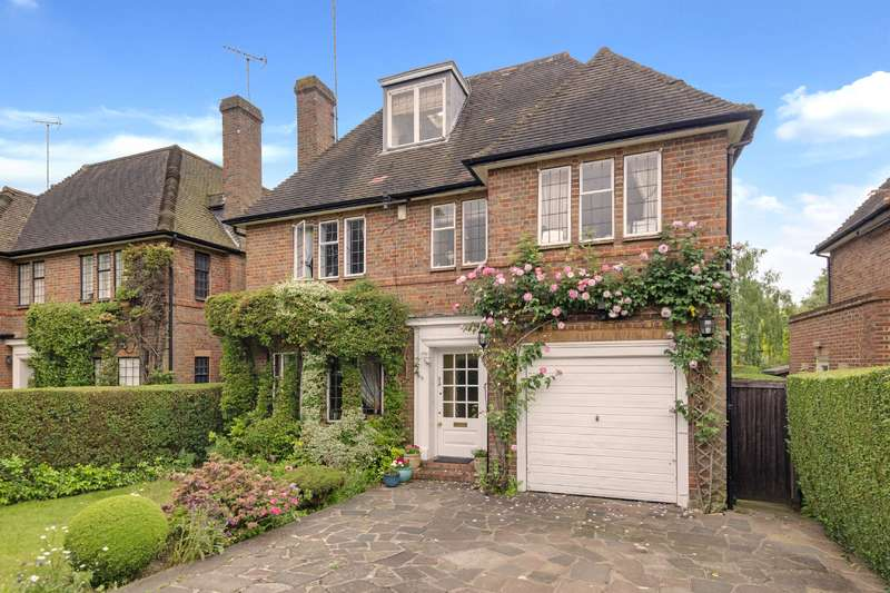 6 Bedrooms Detached House for sale in Spencer Drive, Hampstead Garden Suburb