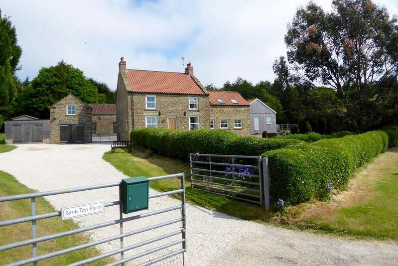 4 Bedrooms Farm House Character Property for sale in Rawcliffe Bank Top Farm, Newton-upon-Rawcliffe, Pickering, YO18 8QF