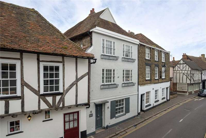 3 Bedrooms Terraced House for sale in Strand Street, Sandwich, Kent