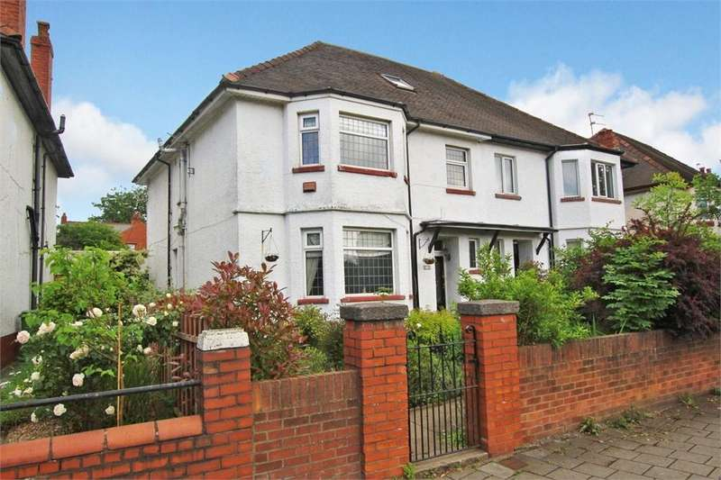 4 Bedrooms Semi Detached House for sale in Albany Road, Roath, Cardiff